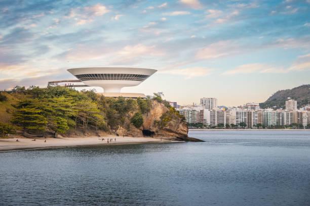 Niteroi Skyline-Niteroi, Rio de Janeiro, Brazil stock photo