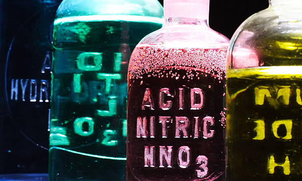 nitric acid - acid stock pictures, royalty-free photos & images