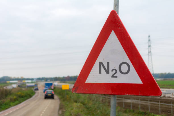 Nitrogen crisis in the netherlands stock photo