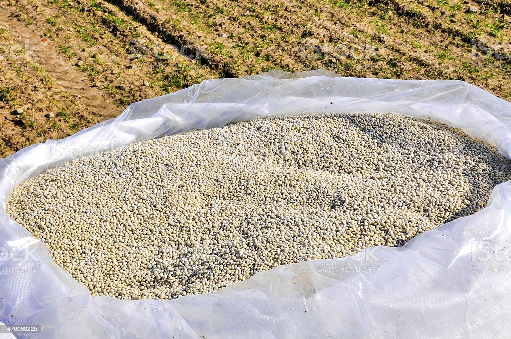 nitrogenous fertilizer stock photo