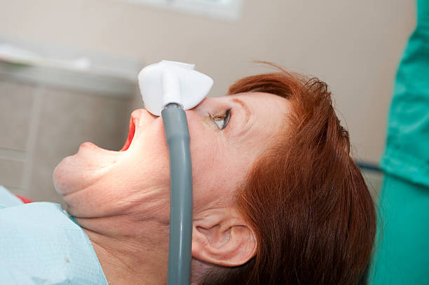 Nitrous Oxide Laughing Gas  tranquilizing stock pictures, royalty-free photos & images