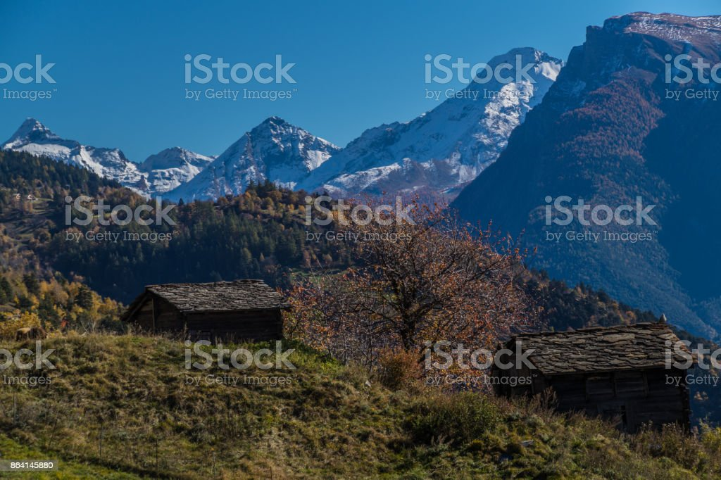 niwarch,ausserberg,valais,swiss royalty-free stock photo