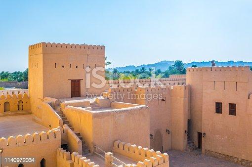 Nizwa Fortress in Oman.