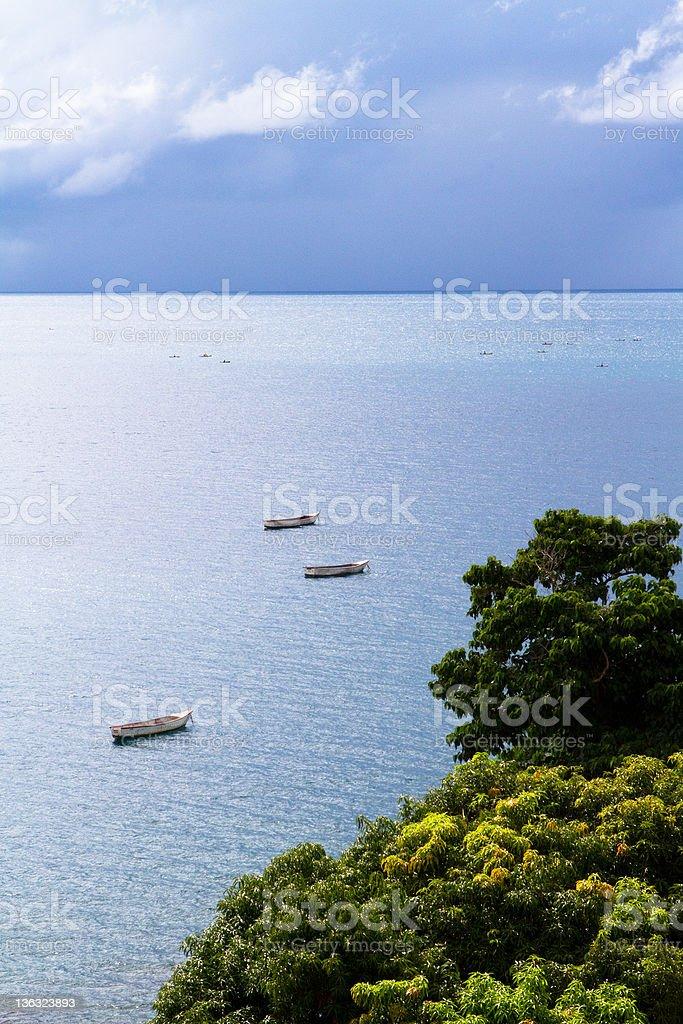 Nkhata bay stock photo