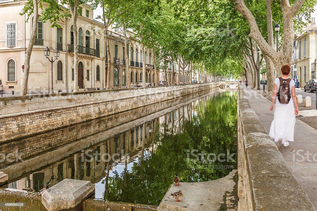 Nîmes - France stock photo