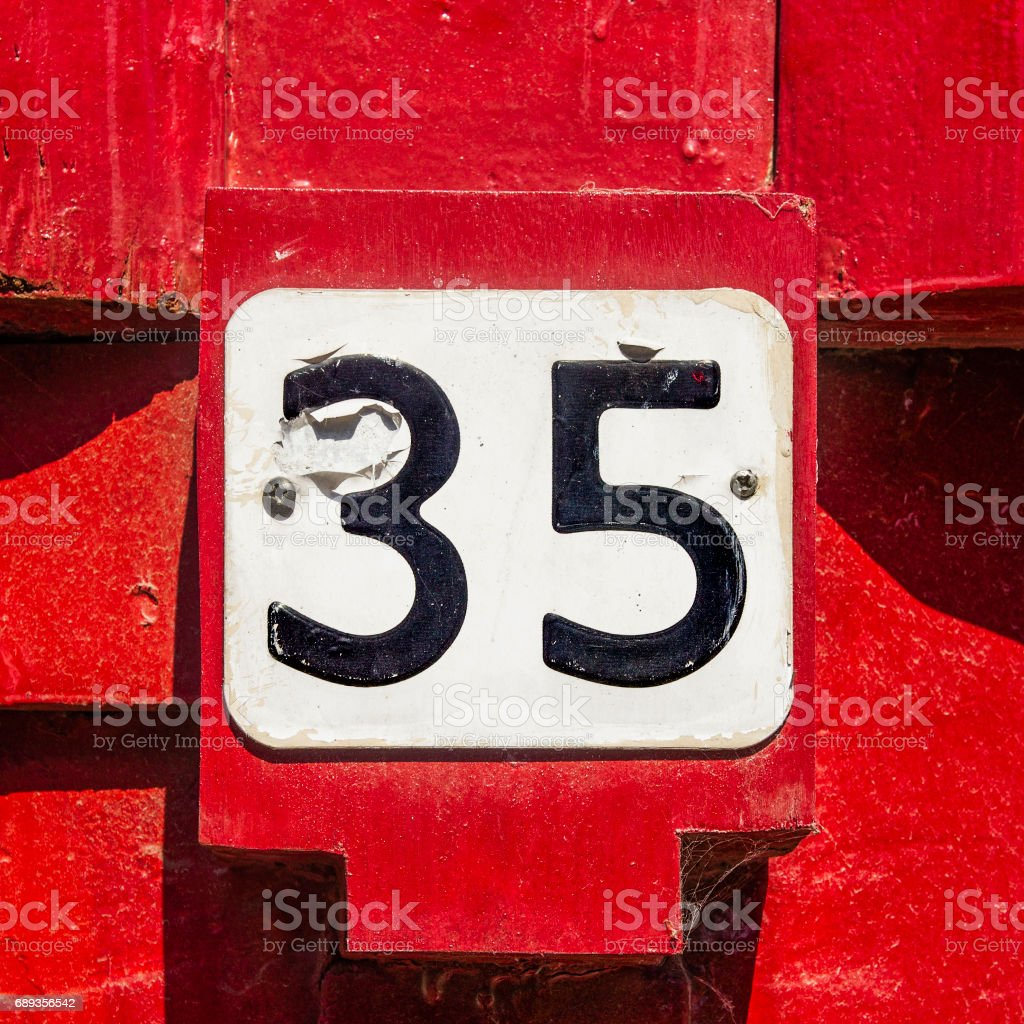 Number 35 Stock Photos Pictures U0026 Royalty Free Images