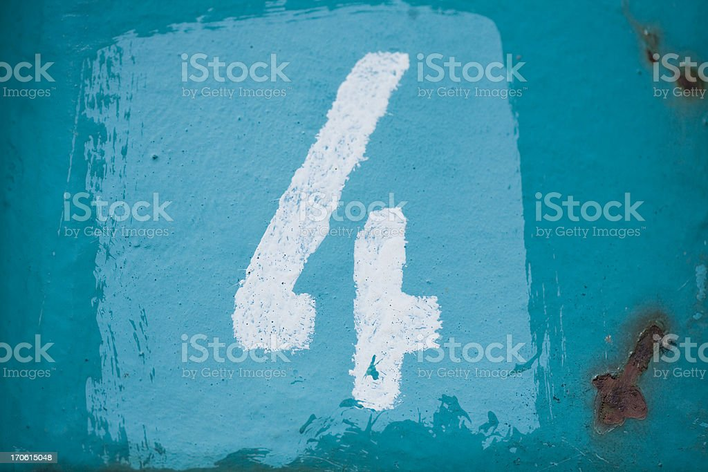 no 4 stock photo