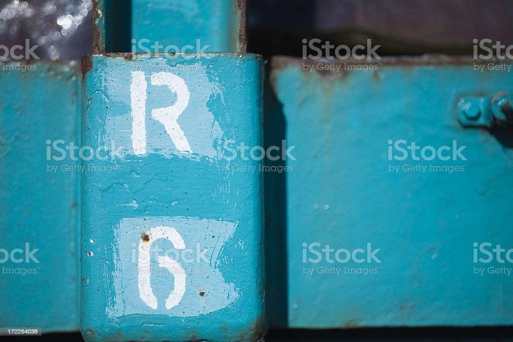 no 6 royalty-free stock photo