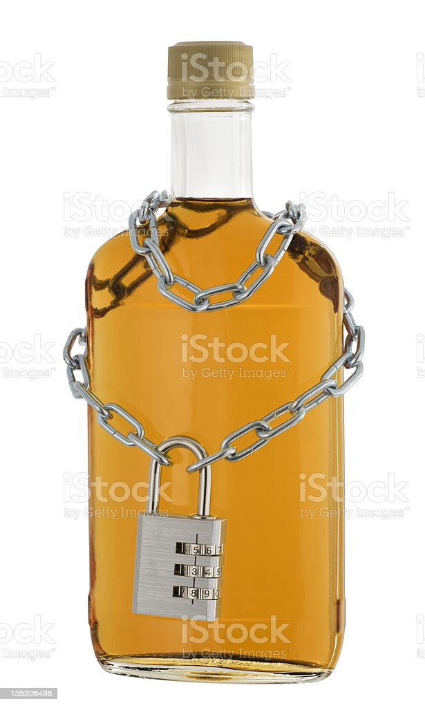 No Alcohol royalty-free stock photo