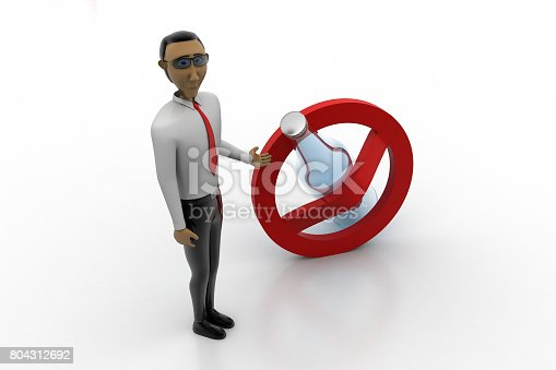istock No alcohol use concept with man 804312692