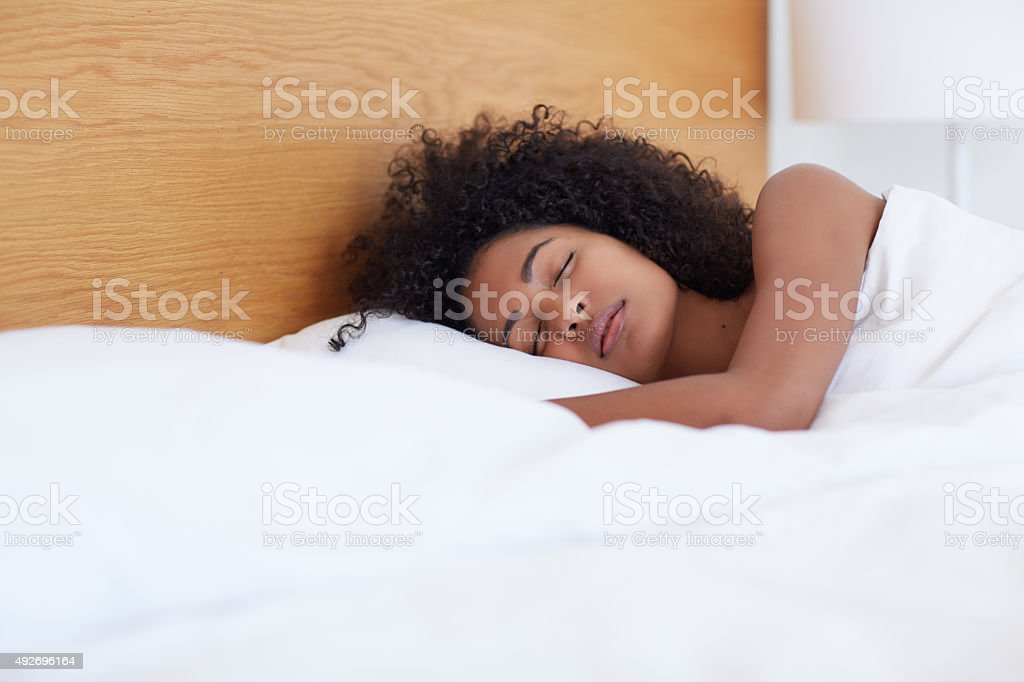 No beauty sleep needed here! stock photo