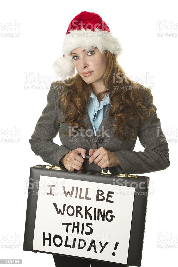 no christmas break royalty-free stock photo