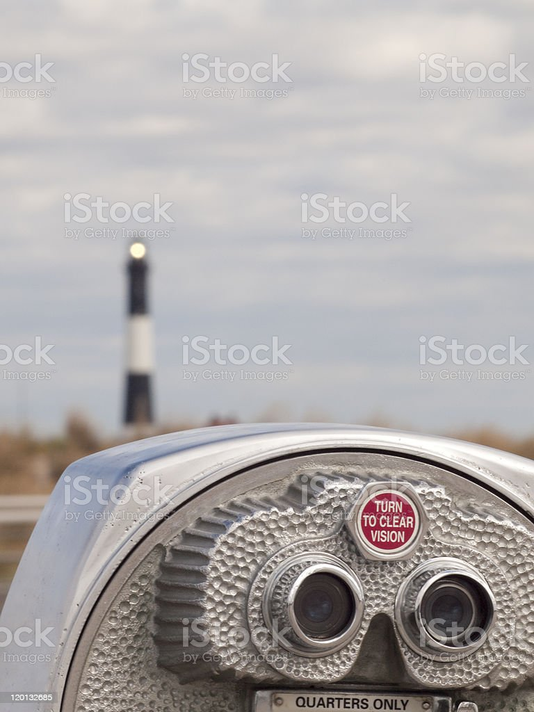 No clear vision stock photo