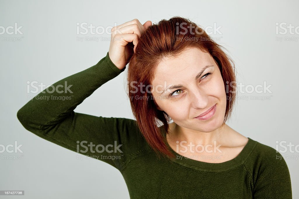 No clue royalty-free stock photo