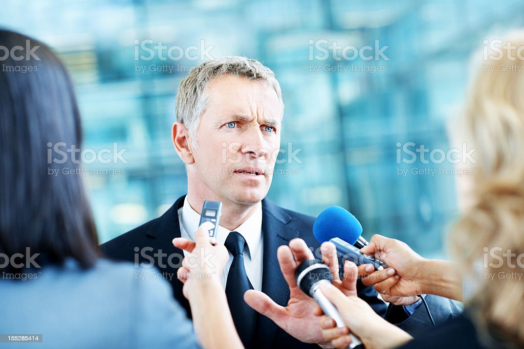 No comment royalty-free stock photo