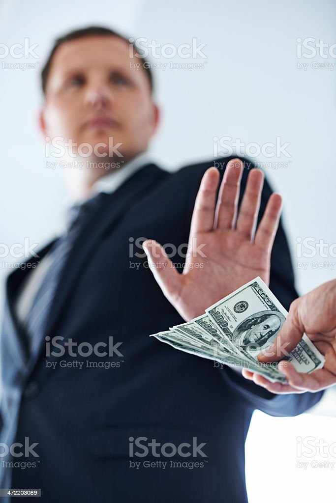 No deal! stock photo