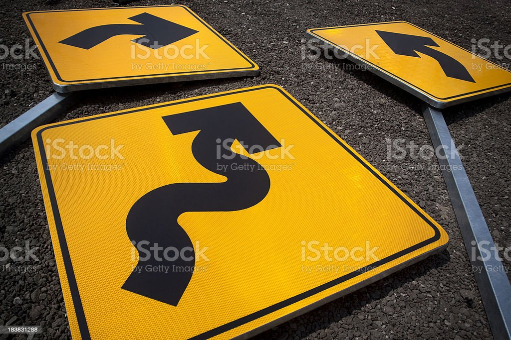 No direction -  Road signs stock photo