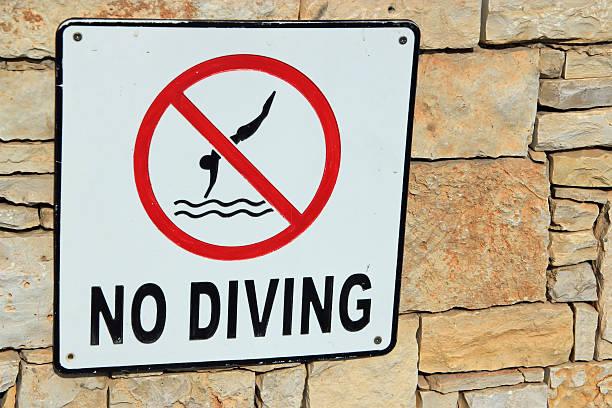 Wassersprung Verboten – Foto