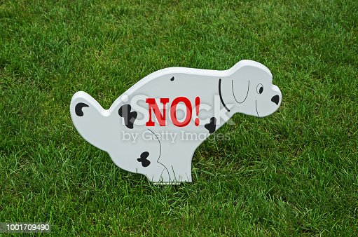 istock No dogs allowed 1001709490
