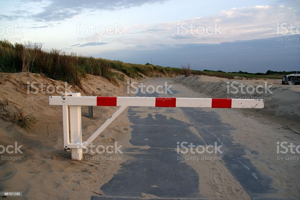No entrance royalty-free stock photo