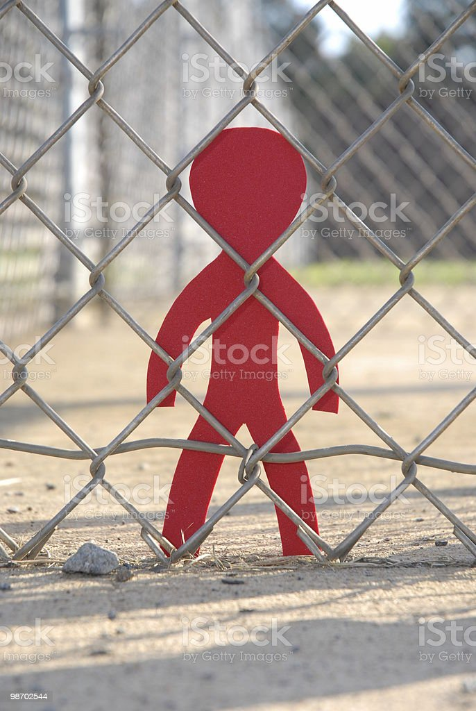 No entry red royalty-free stock photo
