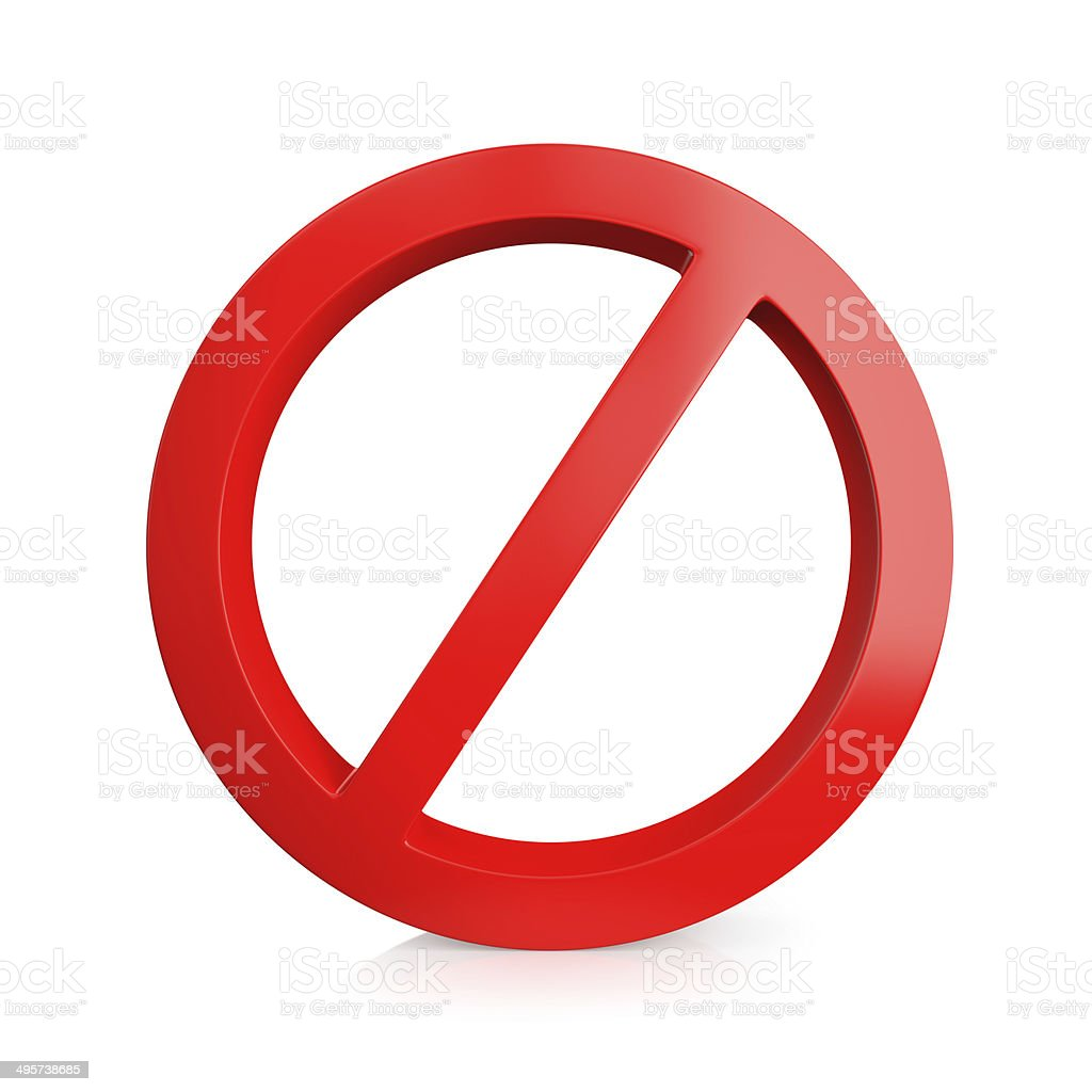 No entry sign stock photo