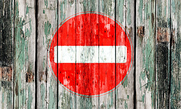 no entry sign - disbarment stock pictures, royalty-free photos & images