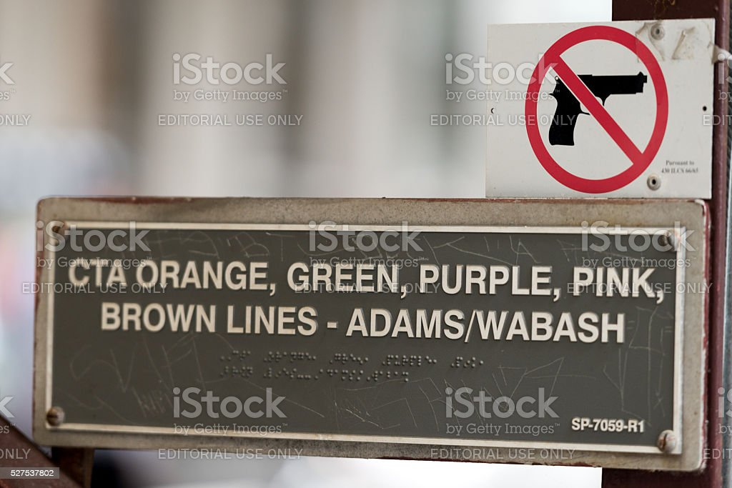 No Guns stock photo