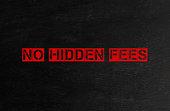 istock No hidden Fees 887650732