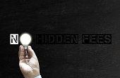 istock No hidden Fees 887665194