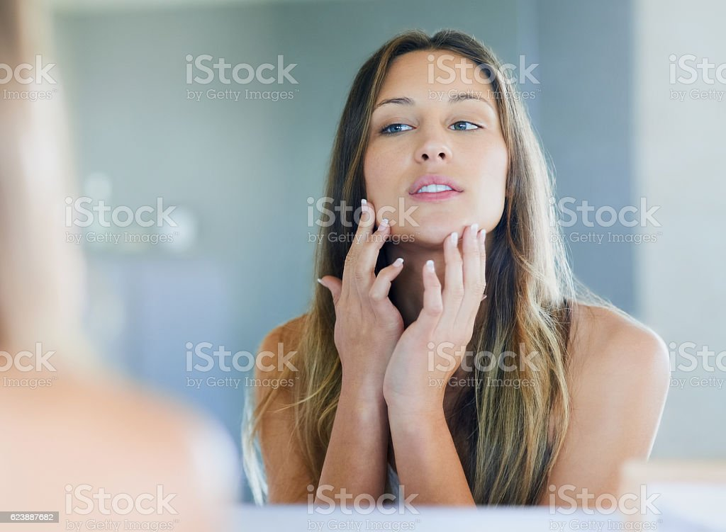 No imperfections allowed stock photo
