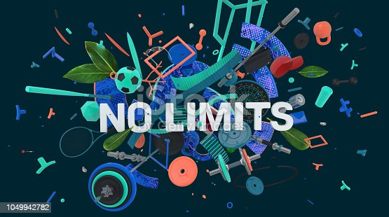 istock No limits message banner 1049942782