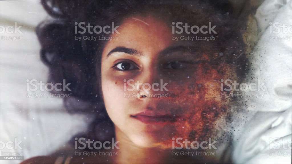No Make Up royalty-free stock photo