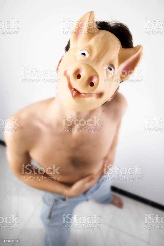 no me llames cerdo royalty-free stock photo