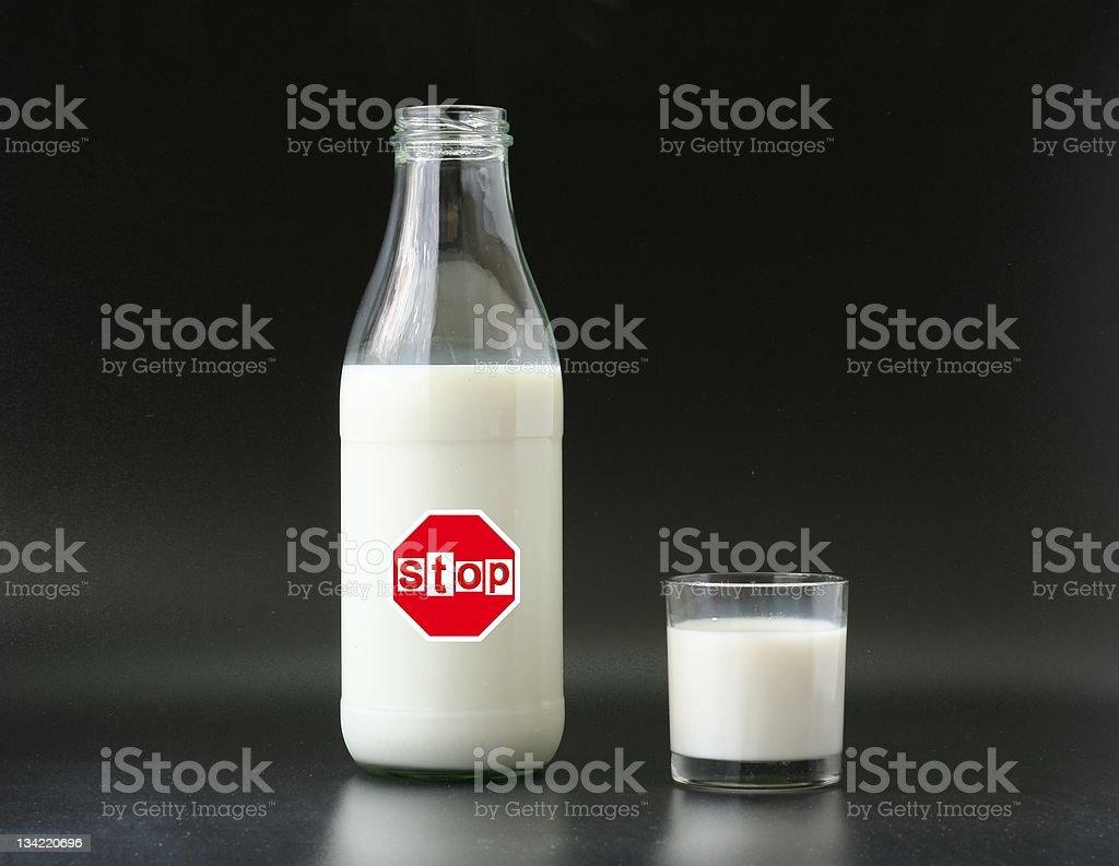 no milk stock photo