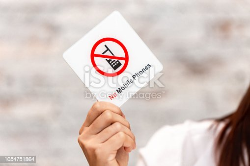 istock no mobile phone or phone call warning prohibit sign 1054751864