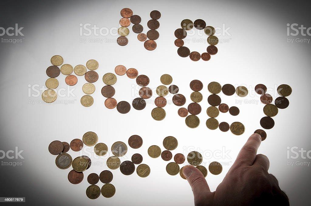 No money stock photo