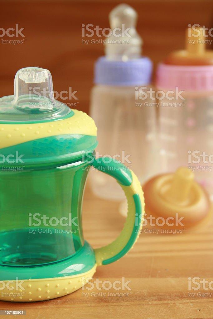 No more Bottles! stock photo