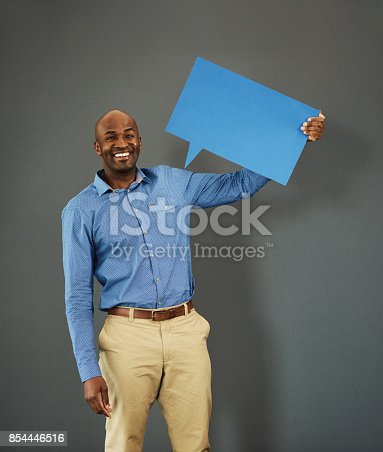 1048561956istockphoto No more silence, we want opinions 854446516