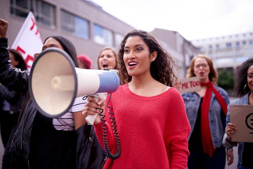 istock No more silencing a women's voice 1074842578