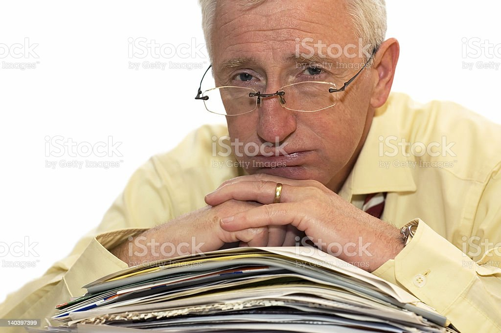 No more work for me please! royalty-free stock photo