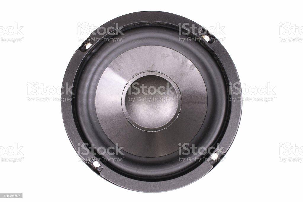 No nails speaker stock photo