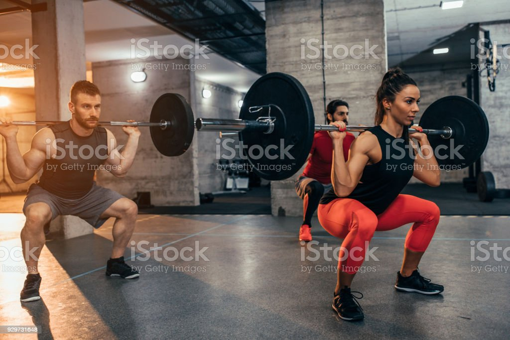 No pain, no gain stock photo