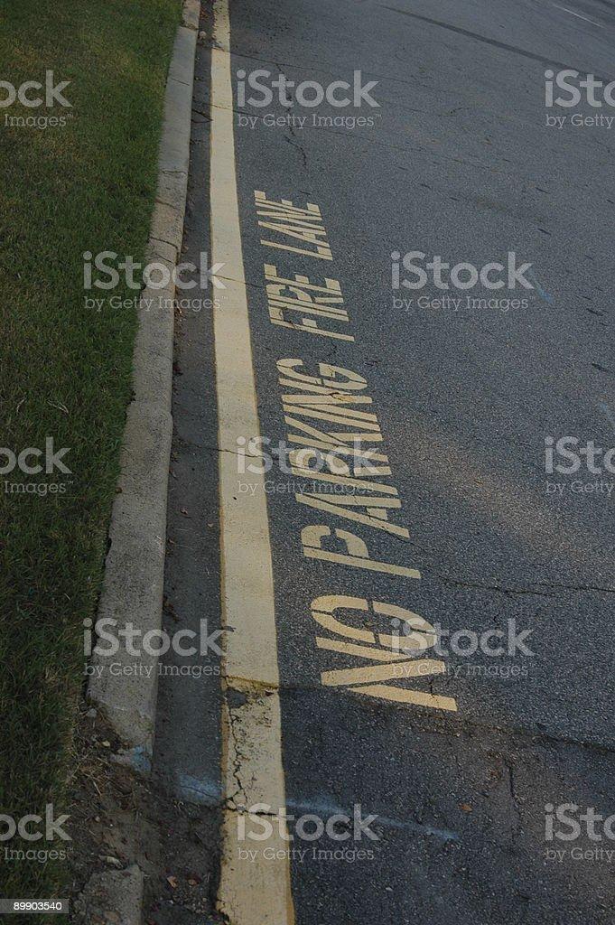 Keine Parkplätze Lizenzfreies stock-foto