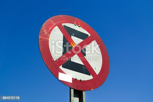 istock No parking sign 664015116