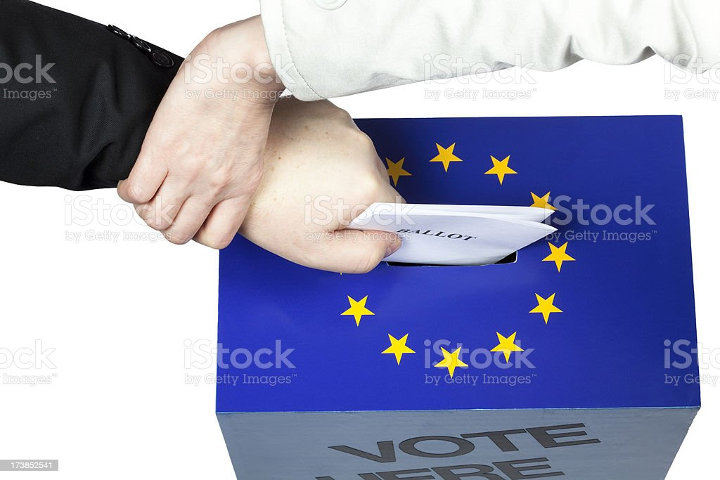 No right to vote royalty-free stock photo