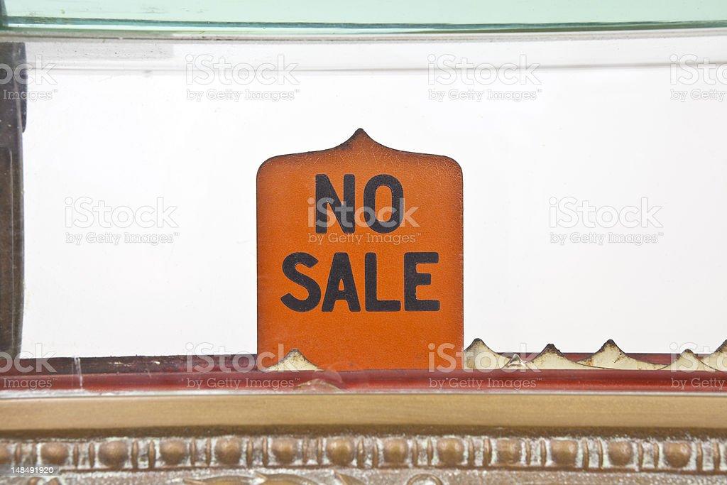 Nenhuma venda - foto de acervo