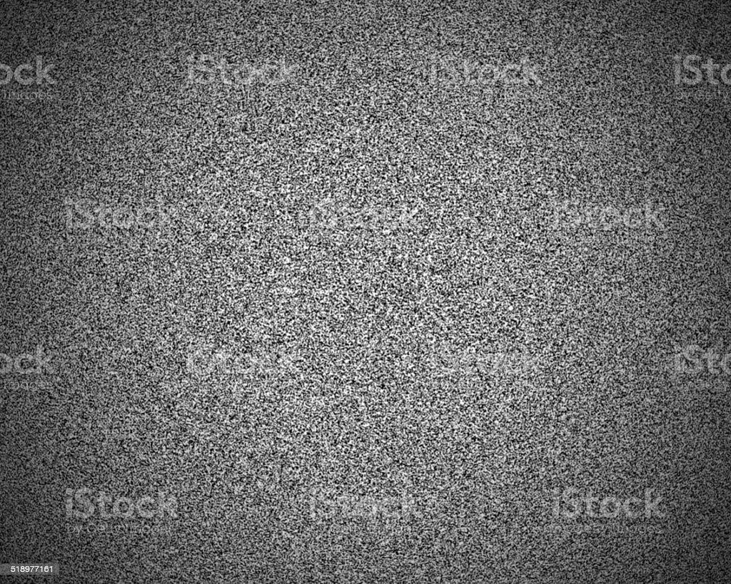 No signal - Static TV stock photo