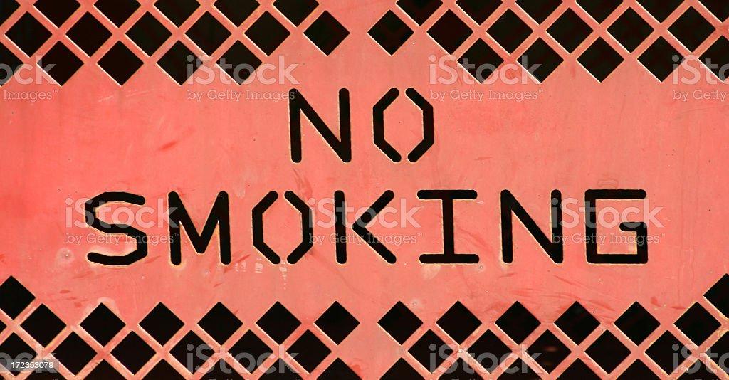 No Smoking Area royalty-free stock photo