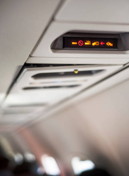 No Smoking On The Plane Stock Photo - Download Image Now